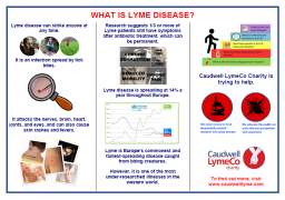 what is lyme disease leaflet image
